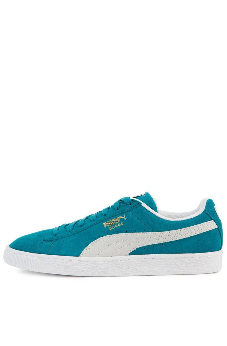 The Suede Classic in Ocean Depths and Puma White