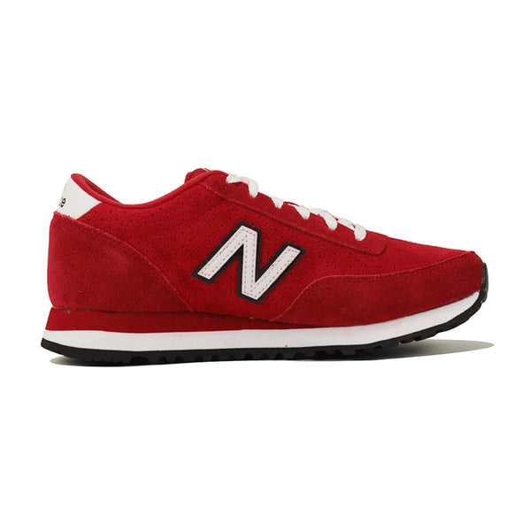 New Balance for Women: 501 Red and White Running Sneaker