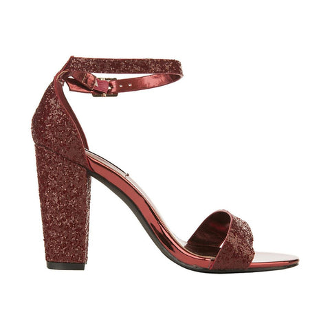 Women's Lisa-25 High Heel Dress Shoe Burgundy High Heel Shoes