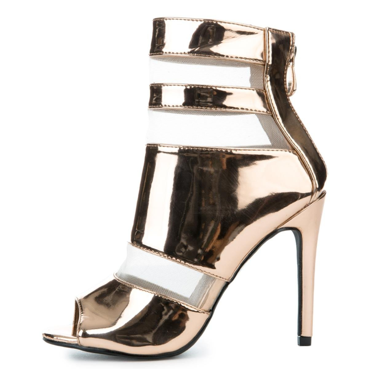Women's Lola-12 High Heel in Rose Gold