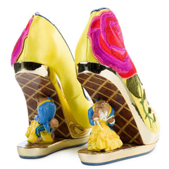 Disney's Beauty And The Beast x Irregular Choice Bold As A Rose