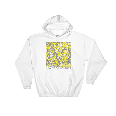 YELLOW DIGITAL CAMU Hooded Sweatshirt