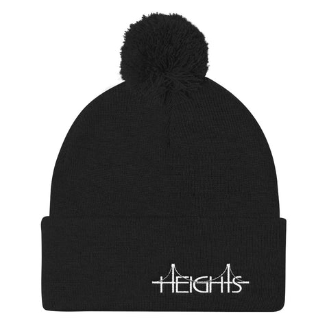 HEIGHTS 1/2 Pom Pom Knit Cap