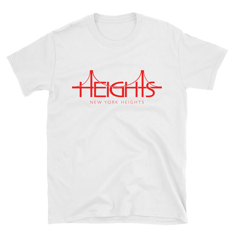 HEIGHTS RED Short-Sleeve Unisex T-Shirt