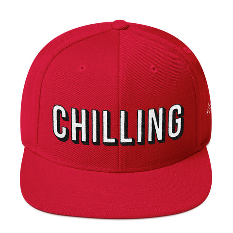CHILLING Wool Blend Snapback