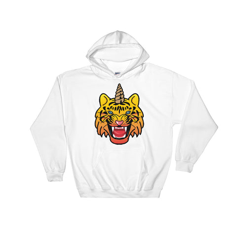 UNICORN TIGER Hooded Sweatshirt