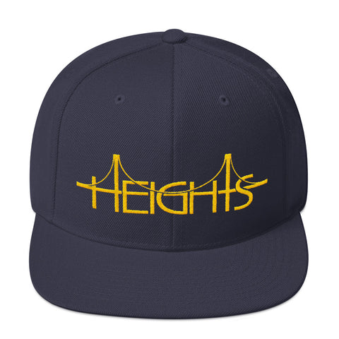 HEIGHTS GOLD Snapback Hat