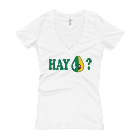 HAY AGUACATE ? Women's V-Neck T-shirt