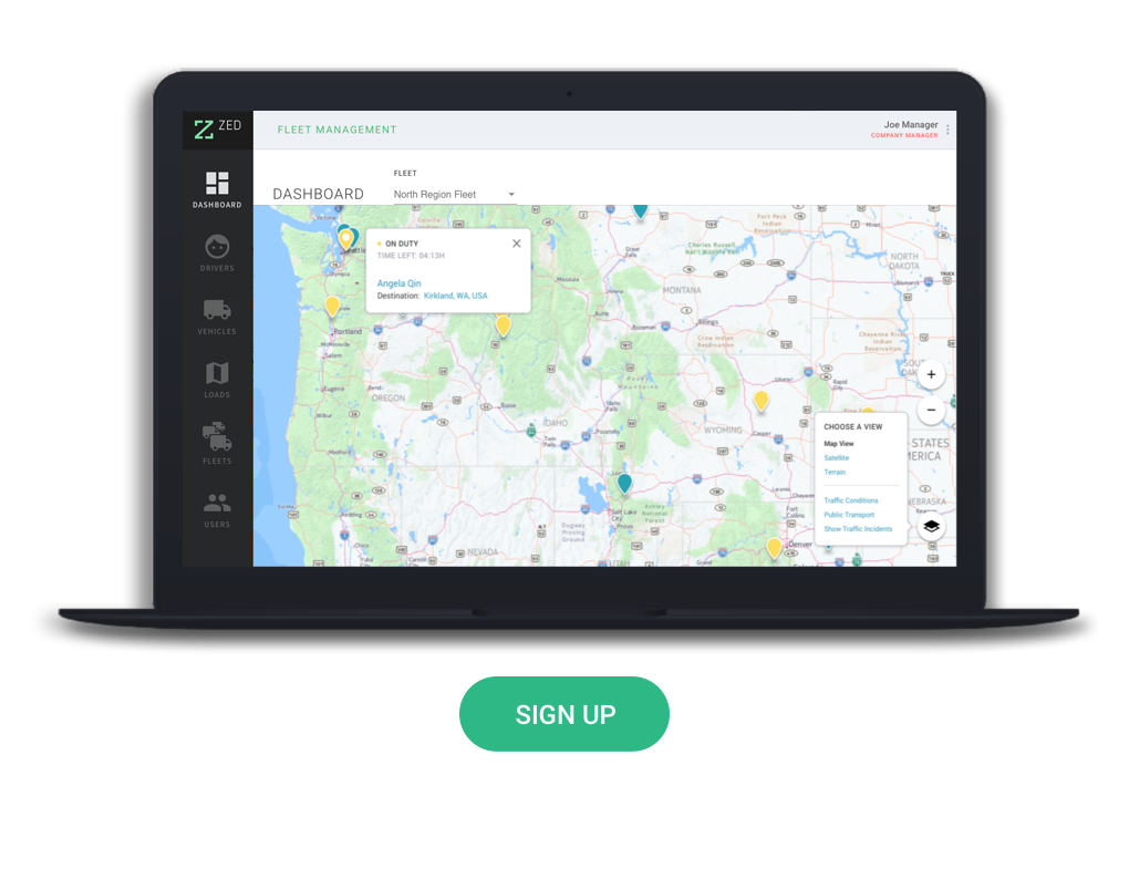 Fleet Management Portal