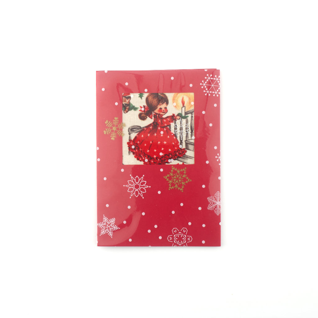 Christmas Eve Card - Poppy Red