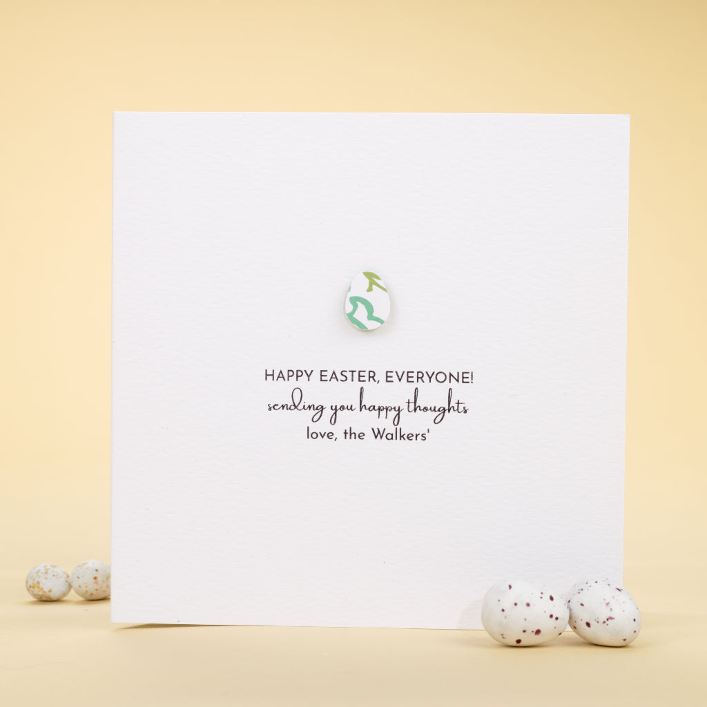 Personalised Happy Easter Everyone! Card