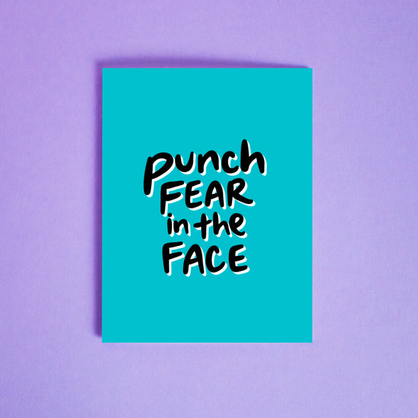 Punch Fear in the Face Card