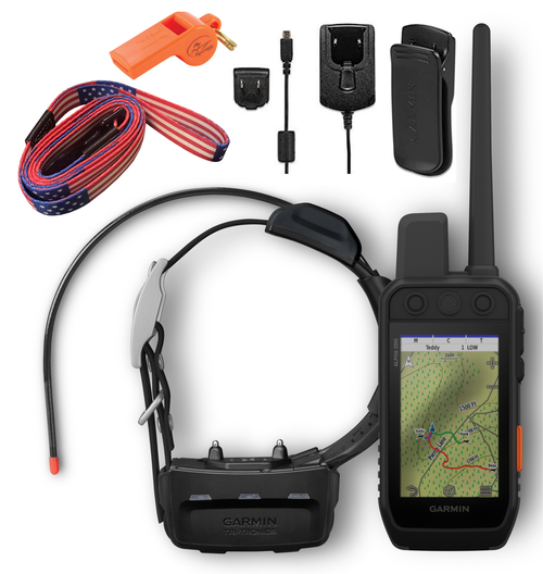 Garmin Alpha 200i GPS Track and Train Handheld Only or with Collar with Wearable4U Bundle