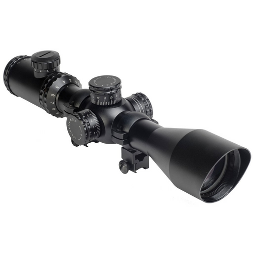 Hatsan Optima E-SFT 2.5-10X50 AirRifle Riflescope with 11mm Dovetail Mounts