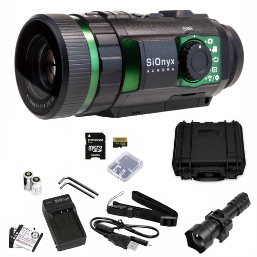 SiOnyx Aurora Night Vision Camera Standard Explorer Edition Hard Case