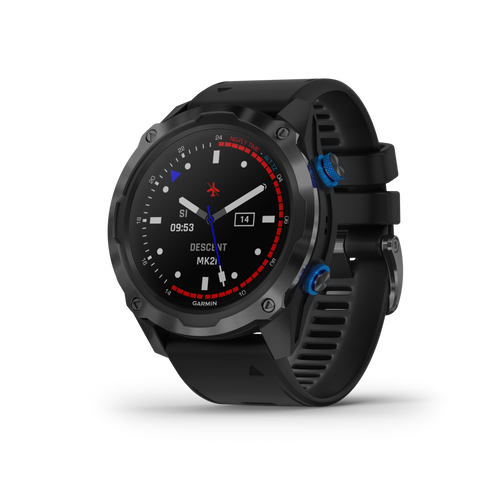 Garmin Descent Mk2i, Watch-Style Dive Computer with Air Integration, Multisport Training/Smart Features