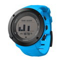 Suunto Ambit3 Vertical HR GPS Multisport Watch black with blue silicone band