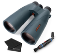 Athlon Optics Cronus G2 15x56 + Hardcase UHD with included Wearable4U Lens Cleaning Pen and Lens Cleaning Cloth Bundle
