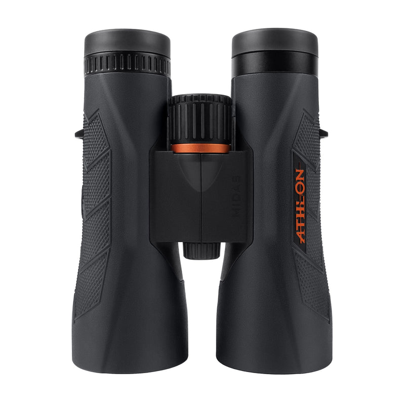 Athlon Optics Midas 12x50 UHD Binoculars with included Wearable4U Lens Cleaning Pen and Lens Cleaning Cloth Bundle