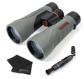 Athlon Optics Argos Binoculars with included Wearable4U Lens Cleaning Pen and Lens Cleaning Cloth Bundle
