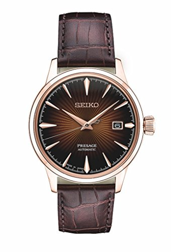 Seiko SRPB46 Mens PRESAGE Automatic Watch w/ Date