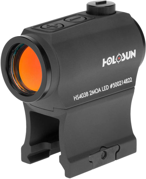 Holosun 2MOA Red Dot HS403B 20mm Micro Optical Red Dot Sight