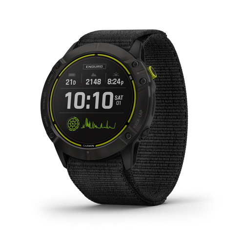 "Garmin Enduro Ultraperformance Multisport GPS Smartwatches with 1.4"" Display, Solar Charging, Battery Life Up to 80 Hours in GPS Mode"