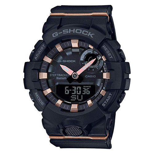 Ladies' Casio G-Shock S-Series G-Squad Connected White Resin Watch GMA-B800