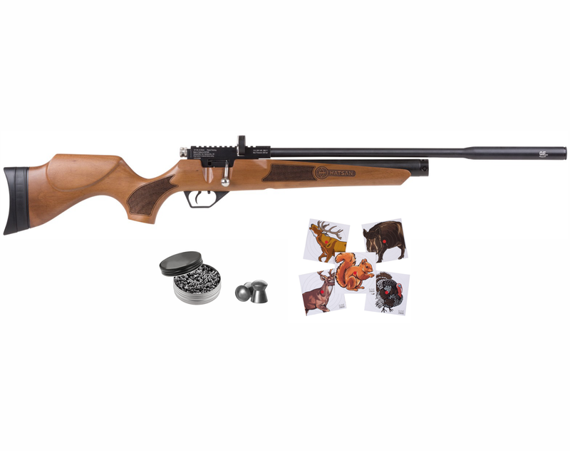 Hatsan Hydra NEW Air Rifle with Pack of Pellets and 100x Paper Targets Bundle