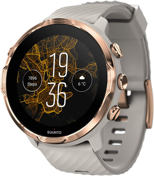 SUUNTO 7 Sandstone Rosegold GPS Smartwatch With Versatile Sports Experience