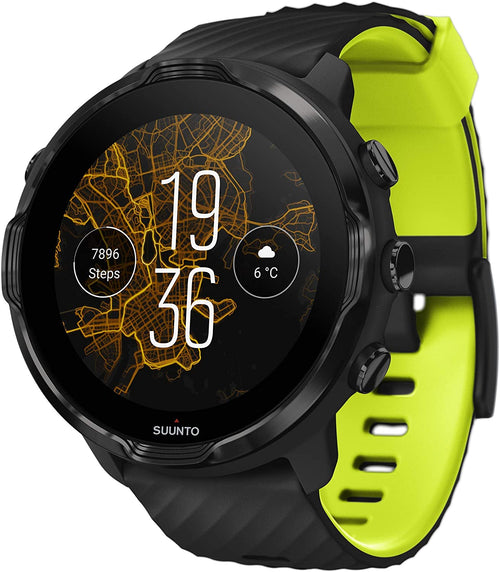 SUUNTO 7 Black Lime GPS Smartwatch With Versatile Sports Experience