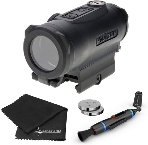 Holosun HE530G Elite Red Dot Reticle Sight Lens Cleaning Pen and Lens Cleaning Cloth Bundle