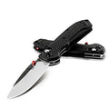 Benchmade 565-1 Mini Freek Knife, Drop-Point Blade, Premium Small Frame Folding Knife