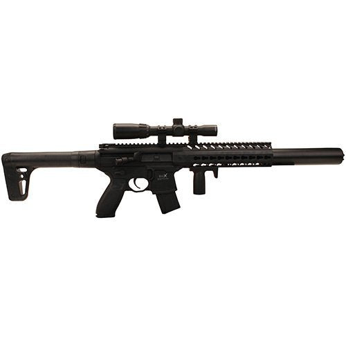 Sig Sauer MCX .177 Cal Co2 Powered (30 Rounds) 14x 24mm Scope Air Rifle, Black