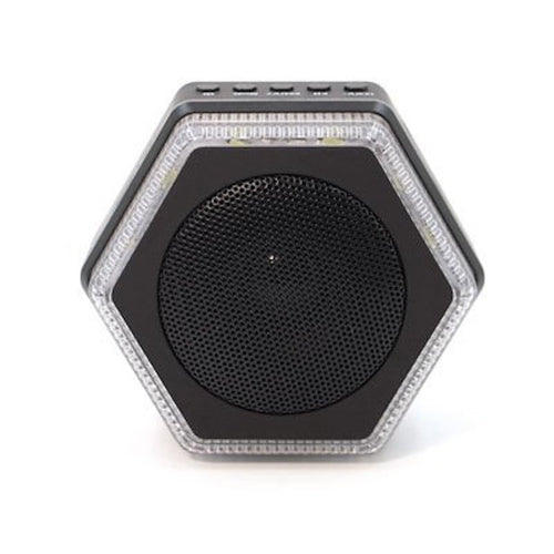 Hybrid HEX Solar Bluetooth Speaker-Charger