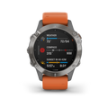 Garmin Fenix 6 - Pro and Sapphire Editions Included Wearable4U Power Pack Bundle