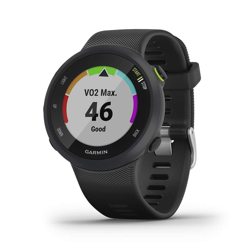Garmin Forerunner 45, Easy-to-Use GPS Running Watch with Garmin Coach Free Training Plan Support