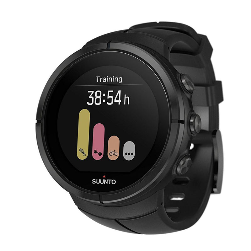 Suunto Spartan Ultra GPS Multisport Watch with black silicone band