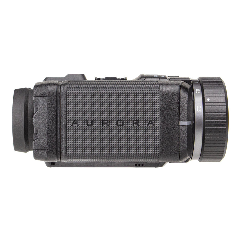 SiOnyx Aurora Black Full-Color Digital Night Vision Camera with Hard Case. Ultra Low-Light IR Night Vision Monocular. Weapon Rated, Water Resistant, WiFi & Time Lapse.