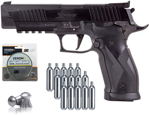 SIG Sauer X-Five Air Pistol with Bundle
