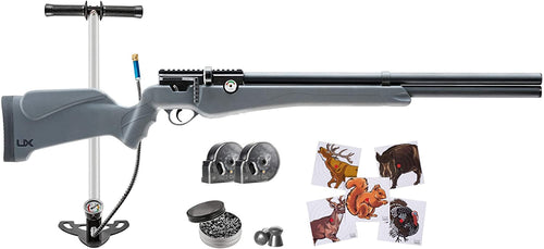 Umarex Origin Air PCP Rifle .22 Cal with High Pressure Air Hand Pump Combo with Wearable4U Bundle