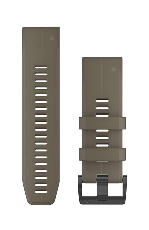 Garmin 010-12741-04 Quickfit 26 Watch Band - Coyote Tan - Accessory Band for Fenix 5X Plus/Fenix 5X