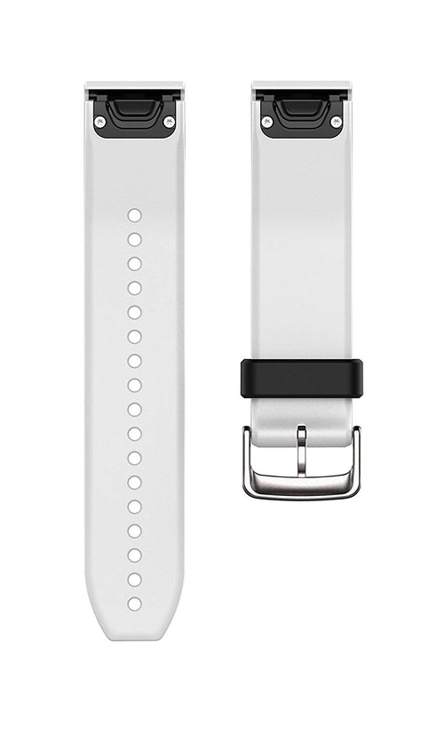 GARMIN 010-12500-01 22mm QuickFit(TM) Watch Band (White Silicone)