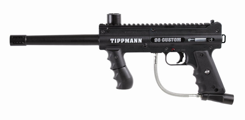 Tippmann 98 Custom Platinum Series Paintball Gun w/ Anti-Chop Technology 14213