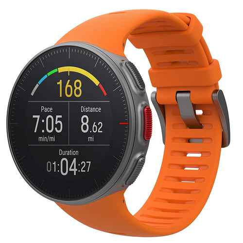 Polar Vantage V GPS Watch w/ Precision Prime & Wrist Power Meter Orange 90070737