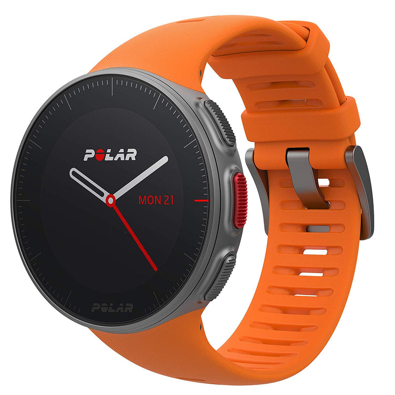Polar Vantage V Pro Sport Watch w/ Heart Rate & Precision Prime, Orange 90069665
