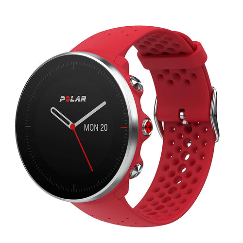 Polar Vantage M GPS Watch w/ Precision Prime, Red Medium/Large 90069746
