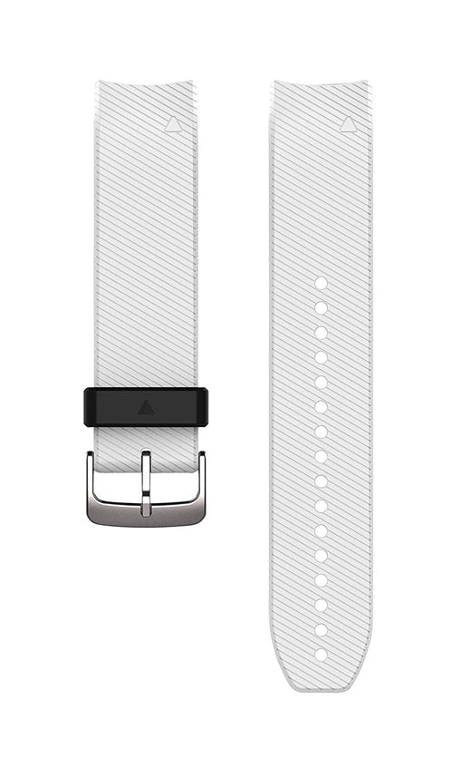 Garmin 010-12500-04 22mm Quickfit Integrated Watch Band (White) S60 Approach