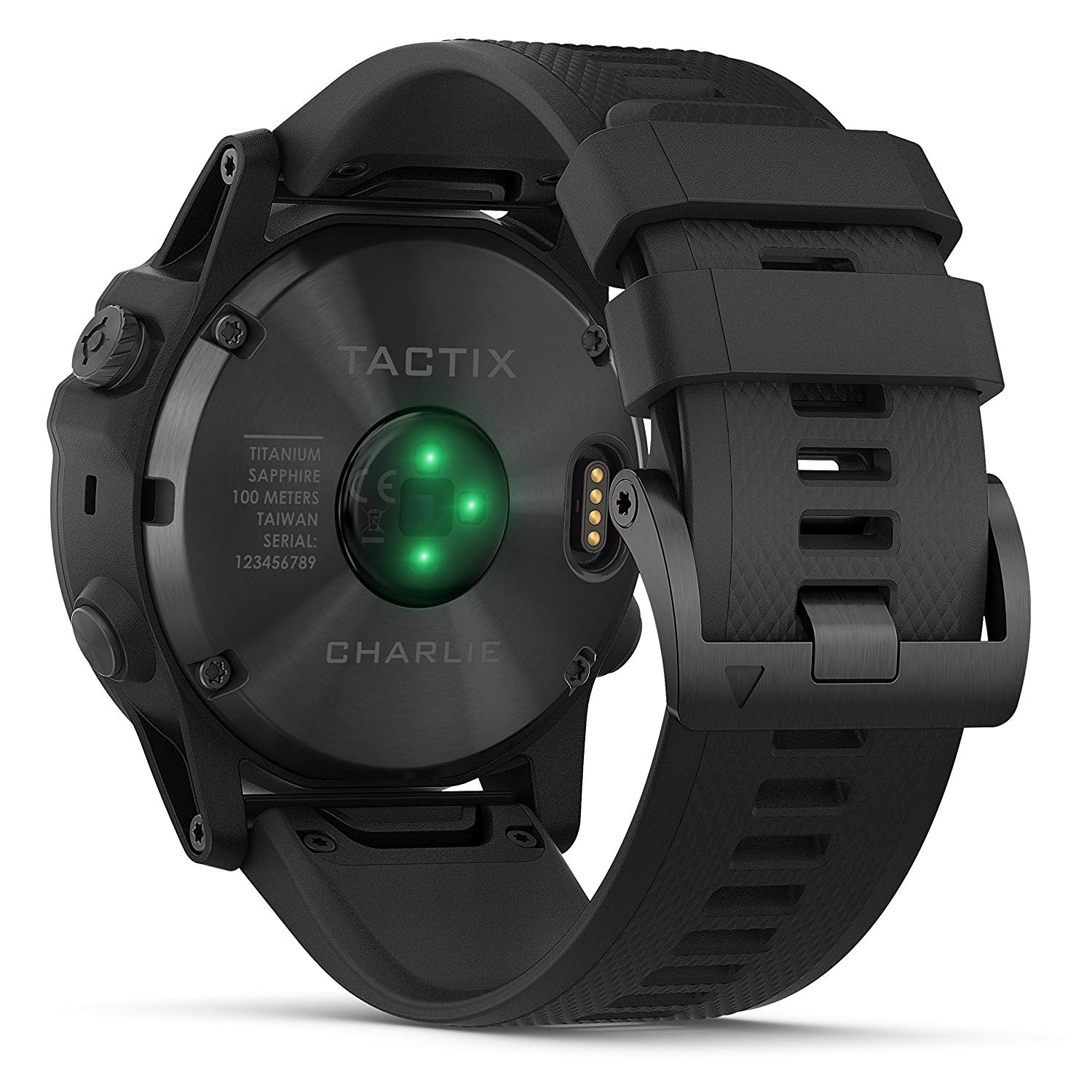 Garmin Tactix Charlie Premium Tactical GPS Watch with TOPO Maps and  Wearable4U Ultimate Power Pack Bundle