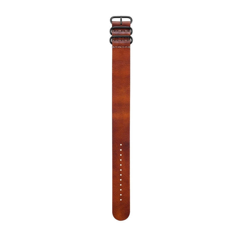 Garmin Brown Leather Strap For Fenix 3 And Tactix Bravo